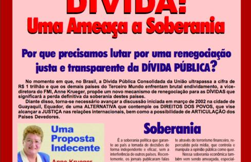Dívida: Uma Ameaça à Soberania – agosto/2002
