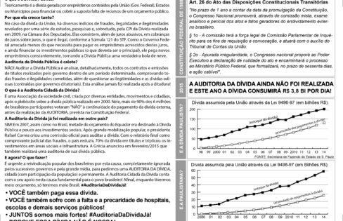 Nota Técnica da Auditoria Cidadã da Dívida nº 1/2017 (Dívida Interna do Estado do Rio de Janeiro refinanciada pela União)