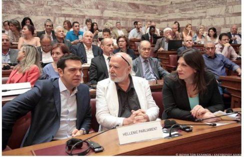 """CADTM: """"A presidente do parlamento grego salvou a honra do Syriza"""", com Eric Toussaint:"""