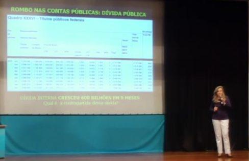 Seminário Nacional: A Corrupção e o Sistema da Dívida (Abertura – Maria Lucia Fattorelli)