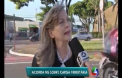 TV Morena (Globo): Carga tributária, com Maria Lucia Fattorelli