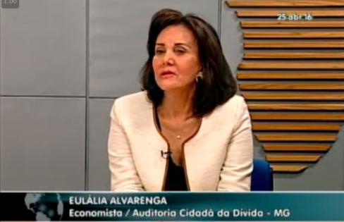 TV Assembleia: A renegociação das dívidas dos estados, com Eulália Alvarenga.