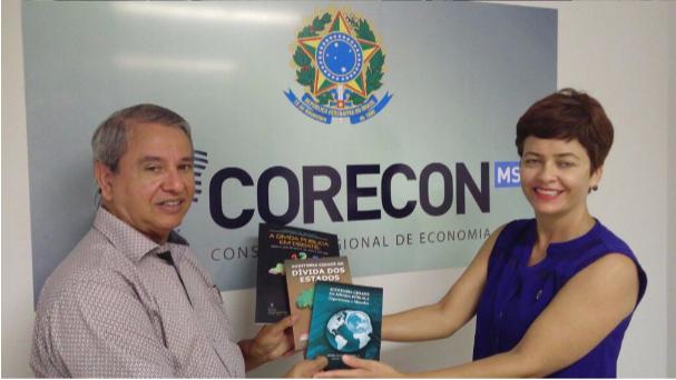 Reunião com o Conselho Regional de Economia do Mato Grosso do Sul