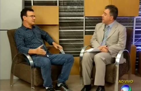 """TV Record: """"endividamento externo causa dúvidas"""", com José Menezes"""