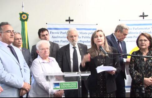 Lançamento da Frente Parlamentar reúne Entidades e Parlamentares e Ressalta Necessidade de uma Auditoria da Dívida Pública