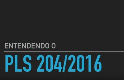 Entendendo o PLS 204/2016