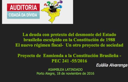 ASAMBLEA LATINDADD 2016 – Eulália Alvarenga