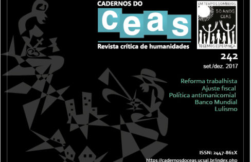 Caderno do Ceas: entrevista com Maria Lucia Fattorelli