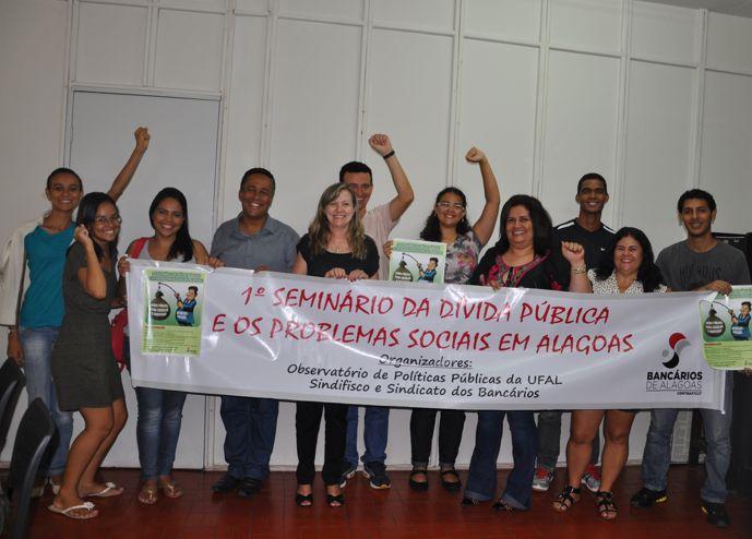 Núcleo Alagoano da Auditoria Cidadã da Dívida é criado
