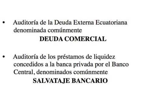 """""""Auditoría de la Deuda Externa Ecuatoriana"""" – Miriam Ayala (Equador)"""