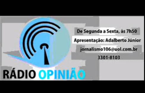 Entrevista à Rádio Opinião – Maranhão