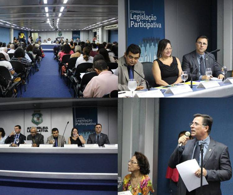 Coordenador do núcleo do Ceará participou de audiência pública sobre a PEC 55 e o futuro da Seguridade Social do Brasil