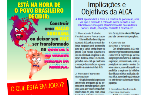Jornal – Plebiscito ALCA – 2002
