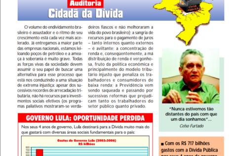 """Seminário """"Os Desafios da Dívida Interna e Externa para a Sociedade Civil"""""""