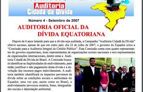 Jornal Auditoria Cidadã – setembro/2007