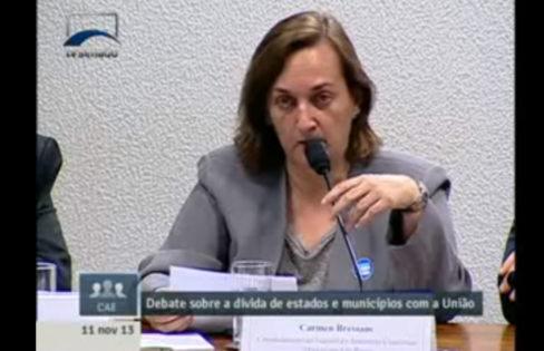 Audiência no Senado aborda dívida do estado de São Paulo