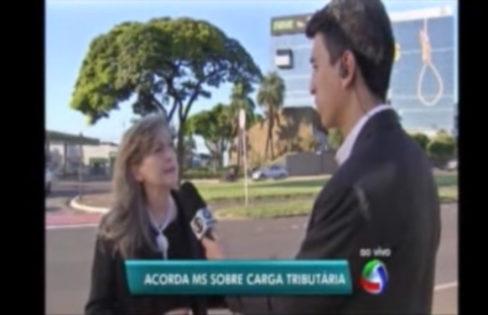 Entrevista de Maria Lucia Fattorelli sobre carga tributária no Brasil