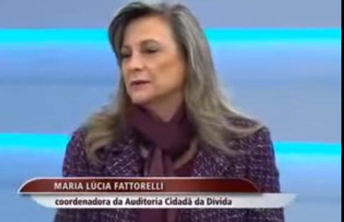 TV Brasil entrevista Fattorelli sobre crise na Grécia
