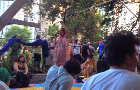 Raquel Rolnik fala sobre a questão da dívida pública no Parque Augusta