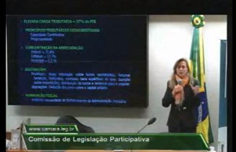 Seminário Justiça fiscal: quem são os contribuintes brasileiros e para onde vão os recursos públicos?