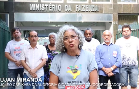 Vídeo pede a derrubada do veto à auditoria da dívida
