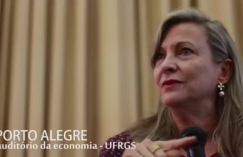 Seminário com Maria Lúcia Fattorelli – A dívida pública brasileira e o caso da Grécia