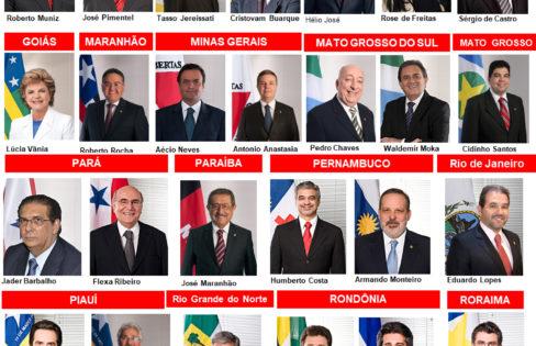 Senadores traidores que aprovaram o PLS 204/2016