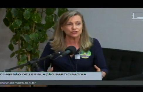 Discurso durante audiência pública sobre privatizações na Câmara dos Deputados