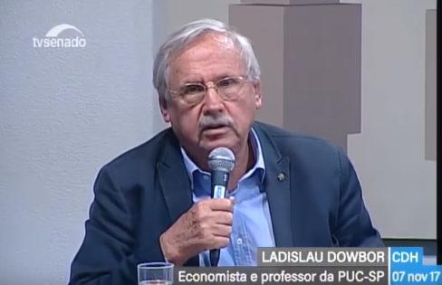 Seminário Internacional: Audiência Pública no Senado – Ladislau Dowbor