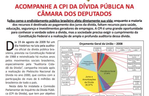 Folheto – CPI da Dívida