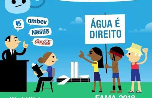 Auditoria Cidadã participa do Fórum Alternativo Mundial da Água 2018