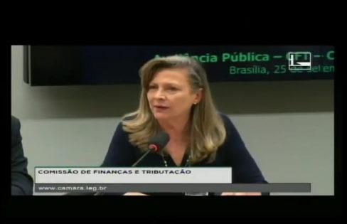 Fattorelli participa da Audiência Pública na Comissão de Finanças e Tributação