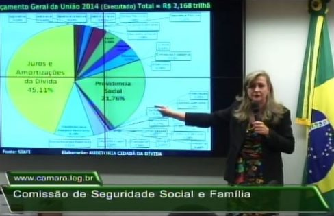 Palestra na Comissão de Seguridade Social e Família da Câmara dos Deputados – Maria Lucia Fattorelli