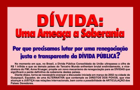 Seminário Internacional 2002 – Dívida: Uma Ameaça à Soberania