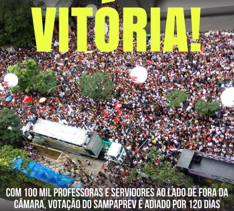 Núcleo São Paulo emite nota contra o Sampraprev