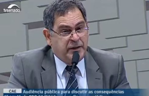 Júlio Miragaya – Presidente do Conselho Federal de Economia (COFECON) sobre a PEC 241 (agora PEC 55)