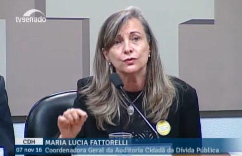 Fattorelli fala à CDH sobre PEC 55