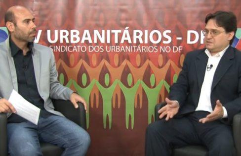 Entrevista de Rodrigo Ávila, economista da ACD, à TV Urbanitários DF sobre a PEC 55 (241)
