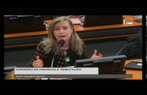 À Comissão de Finanças e Tributação, coordenadora critica PL 9248/2017