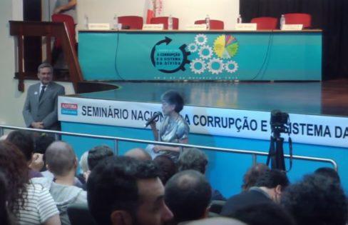 Seminário Nacional: A Corrupção e o Sistema da Dívida (Participação da Plateia – Parte 3)