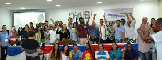 Reunião de lançamento do núcleo Banhia