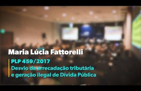Sindireceita: palestra completa da coordenadora nacional da Auditoria Cidadã da Dívida, Maria Lucia Fattorelli