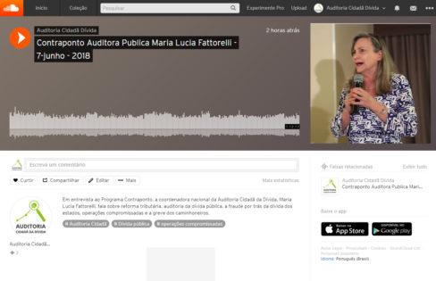 Contraponto conversa com Maria Lucia Fattorelli sobre fraudes, dívida pública, e os últimos acontecimentos