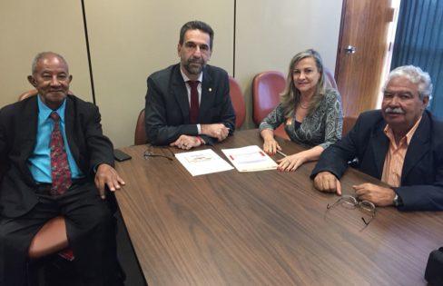 Auditoria Cidadã se reúne com parlamentar para discutir PLP 459/2017