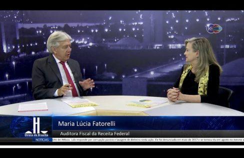 Direto de Brasília entrevista Maria Lucia Fattorelli parte 3