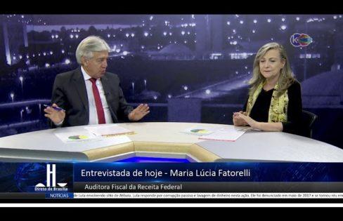 Direto de Brasília entrevista Maria Lucia Fattorelli parte 2