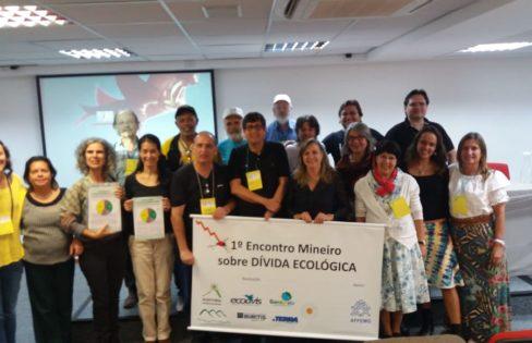 """Palestra """"Dívida ecológica: somos credores"""", – Maria Lucia Fattorelli – 1° Encontro Mineiro Sobre Dívida Ecológica"""