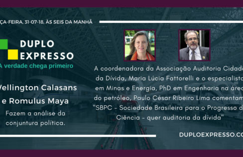 """Duplo Expresso: """"SBPC quer auditoria da dívida"""", entrevista com Maria Lucia Fattorelli"""