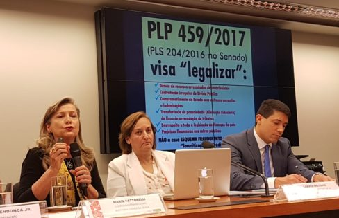Fattorelli fala sobre PLP 459/2017 em Audiência Pública na Câmara dos Deputados