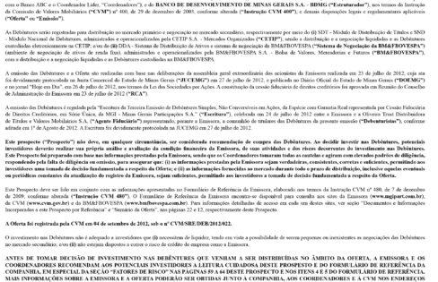 Anúncio DEFINITIVO 3ª Emissão de Debêntures MGi S/A